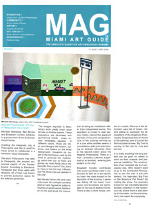 Miami Art Guide March/April 2008